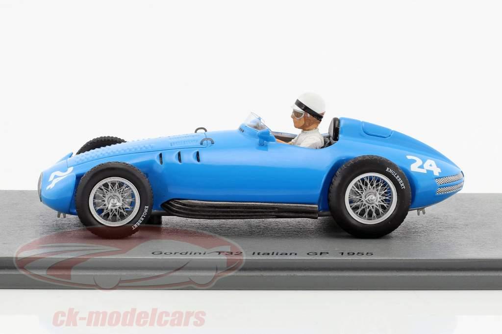 Jean Lucas Gordini T32 #24 italiano GP formula 1 1955 1:43 Spark