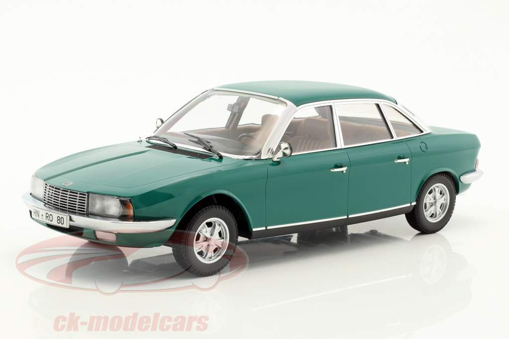 NSU Ro 80 Year 1972 green 1:18 Minichamps