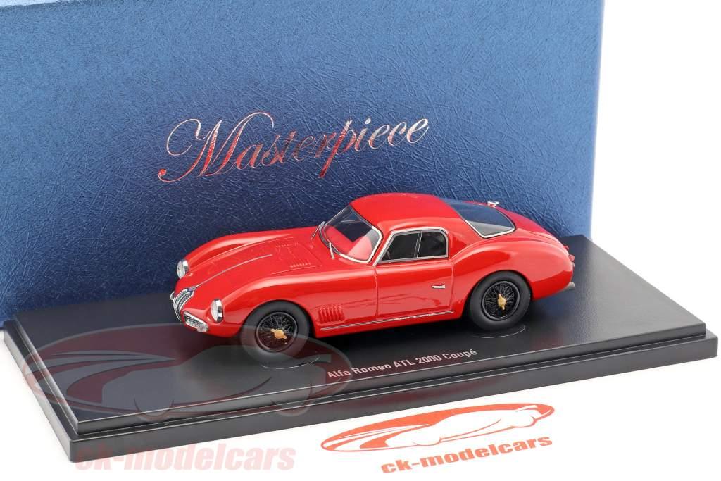 Alfa Romeo ATL 2000 Coupe Baujahr 1953 rot 1:43 AutoCult