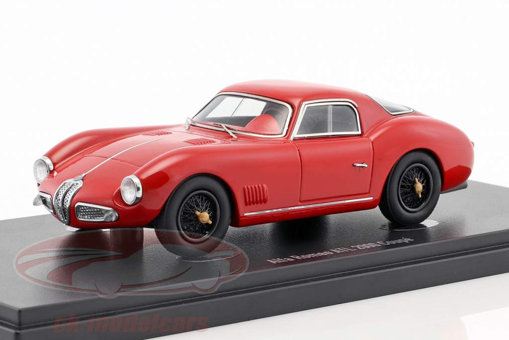 Alfa Romeo ATL 2000 coupe year 1953 red 1:43 AutoCult