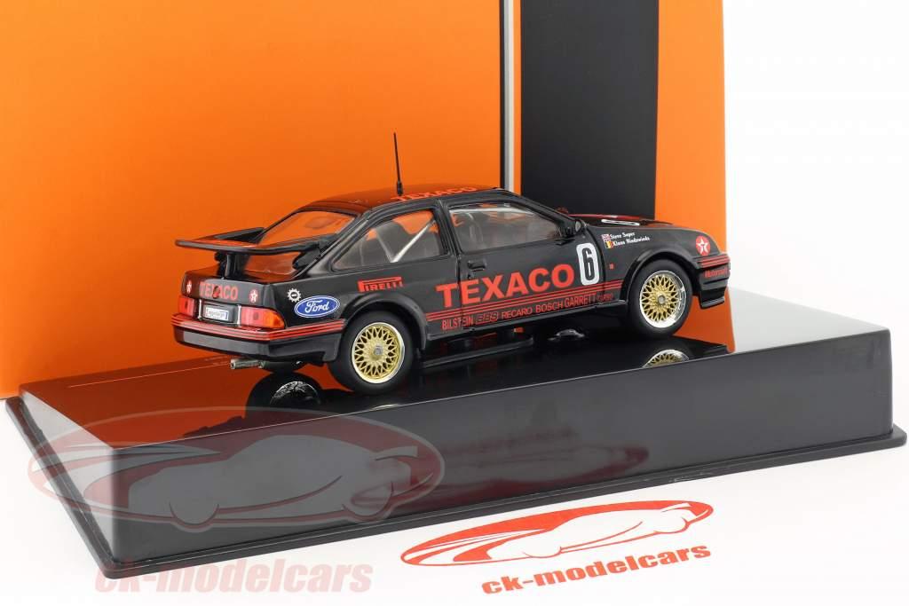 Ford Sierra RS Cosworth #6 classe vincitore Div.3 500km Dijon WTCC 1987 Soper, Niedzwiedz 1:43 Ixo
