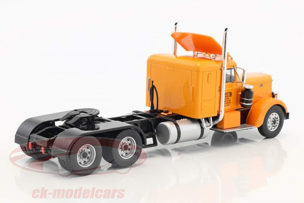 Peterbilt 350 camion Preston People année de construction 1952 orange / crème blanc 1:43 Ixo