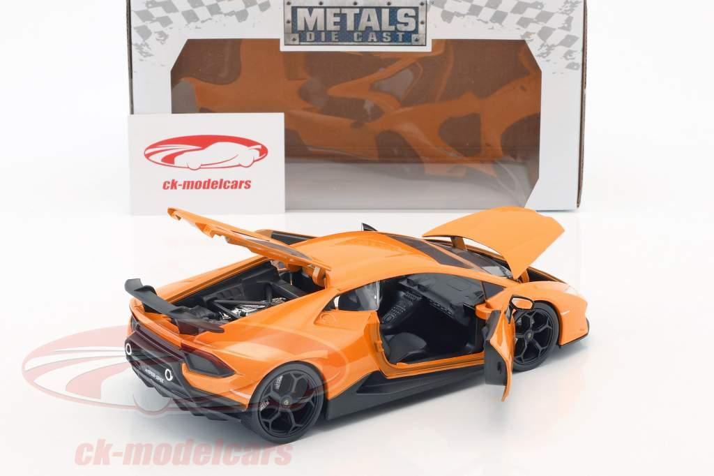 Lamborghini Huracan Performance year 2017 orange 1:24 Jada Toys
