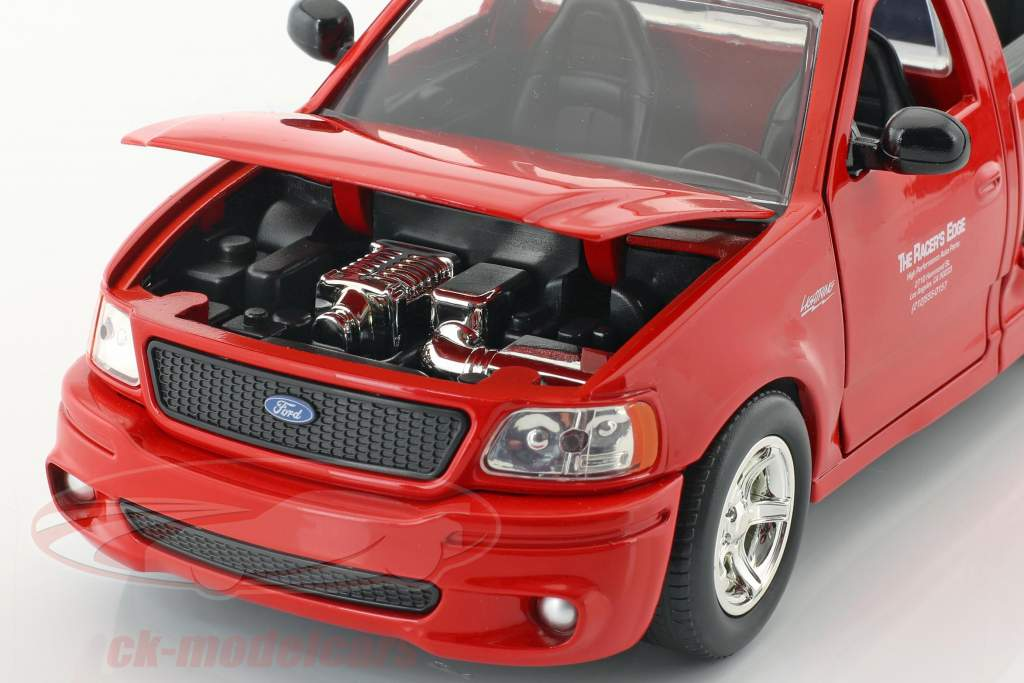 Brian's Ford F-150 SVT Lightning フィルム The Fast & The Furious (2001) 赤 1:24 JadaToys