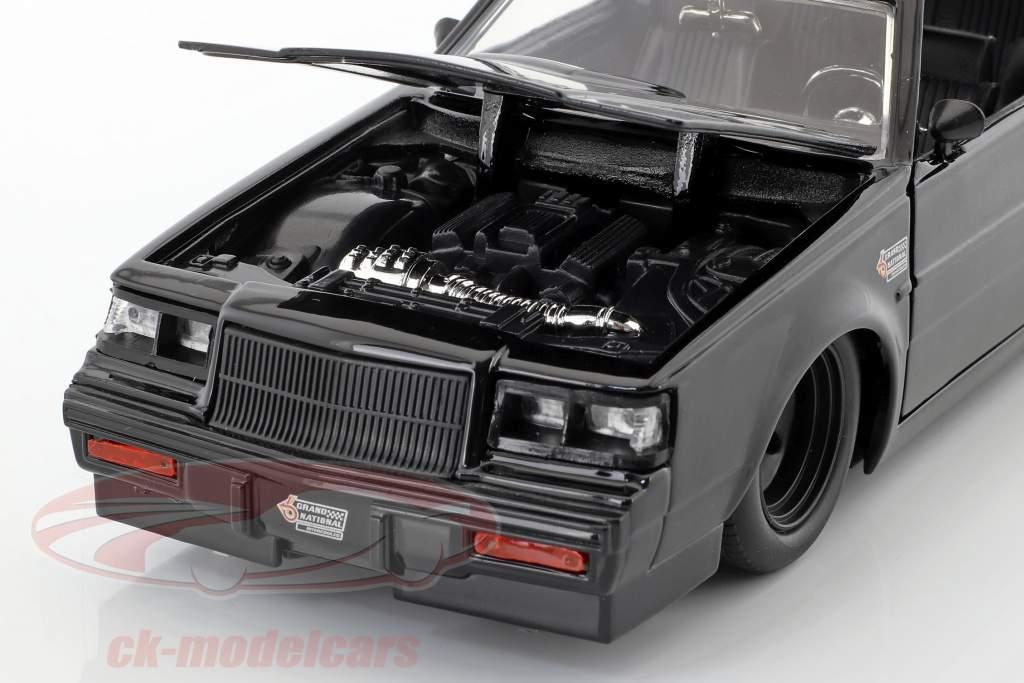 Dom's Buick Grand National anno di costruzione 1987 film Fast & Furious (2009) nero 1:24 Jada Toys