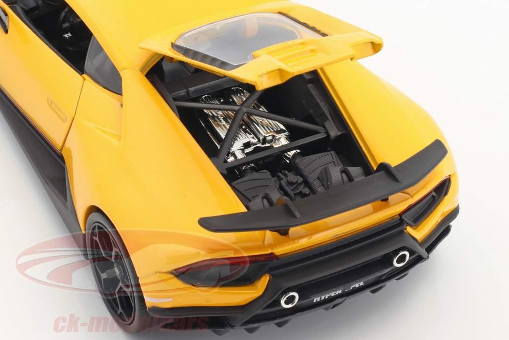 Lamborghini Huracan Performance year 2017 yellow 1:24 Jada Toys