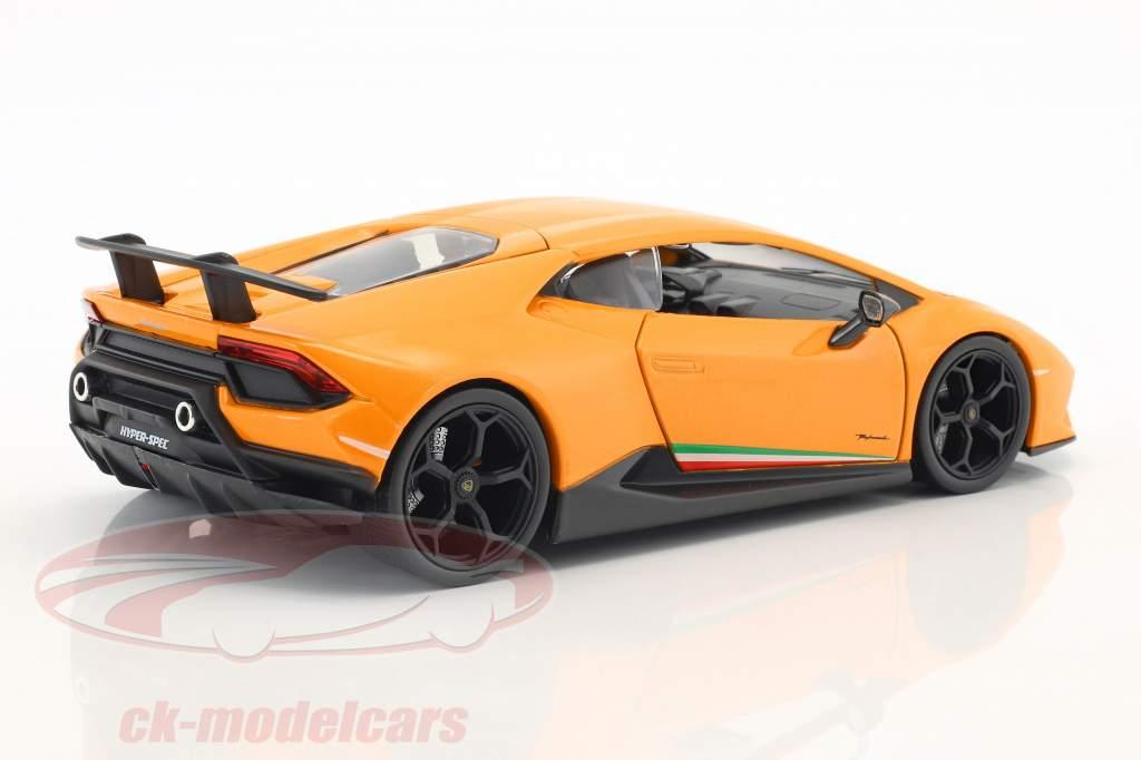 Lamborghini Huracan Performance Baujahr 2017 orange 1:24 Jada Toys