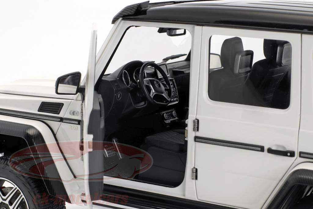 Mercedes-Benz Classe G G500 4x4² anno di costruzione 2016 lucidare bianco 1:18 AUTOart