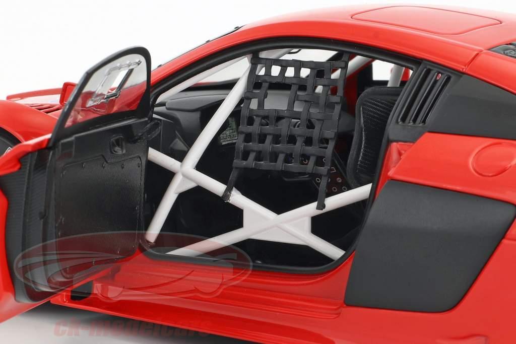 Audi R8 LMS Plain Body Version anno di costruzione 2016 rosso 1:18 AUTOart