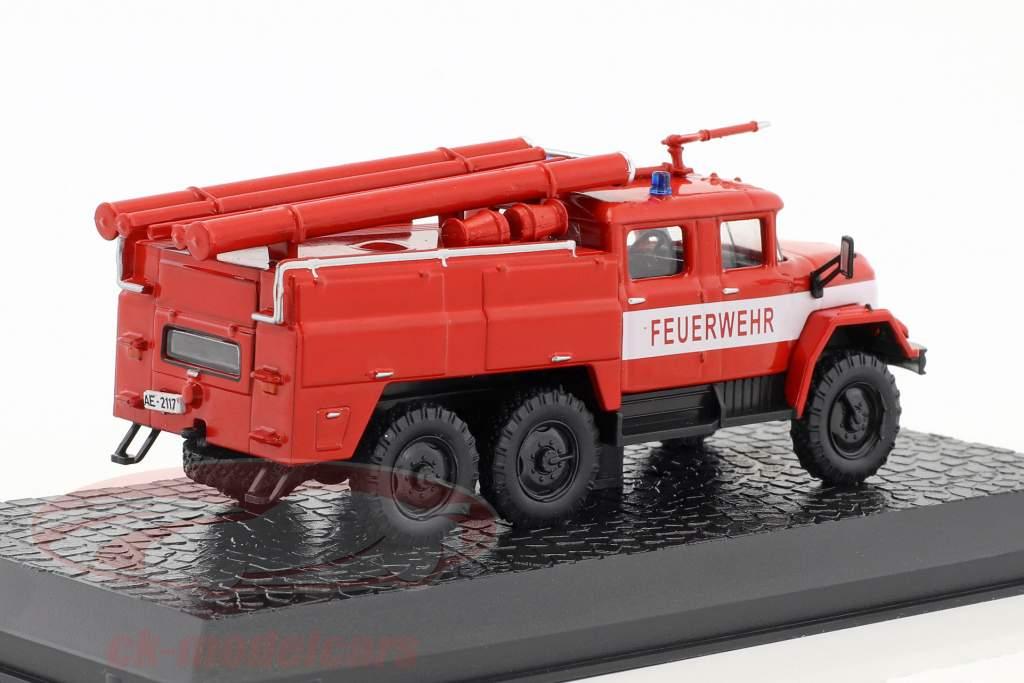 ZIL 131 vigili del fuoco rosso 1:72 Altaya