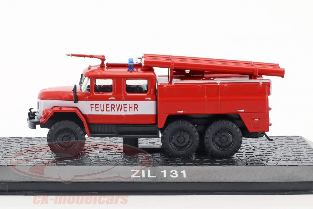 ZIL 131 Feuerwehr rot 1:72 Altaya