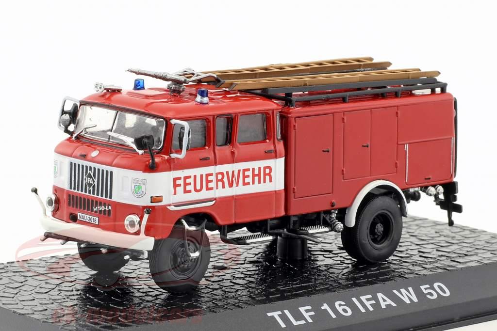 IFA W 50 TLF 16 departamento de bomberos rojo 1:72 Altaya