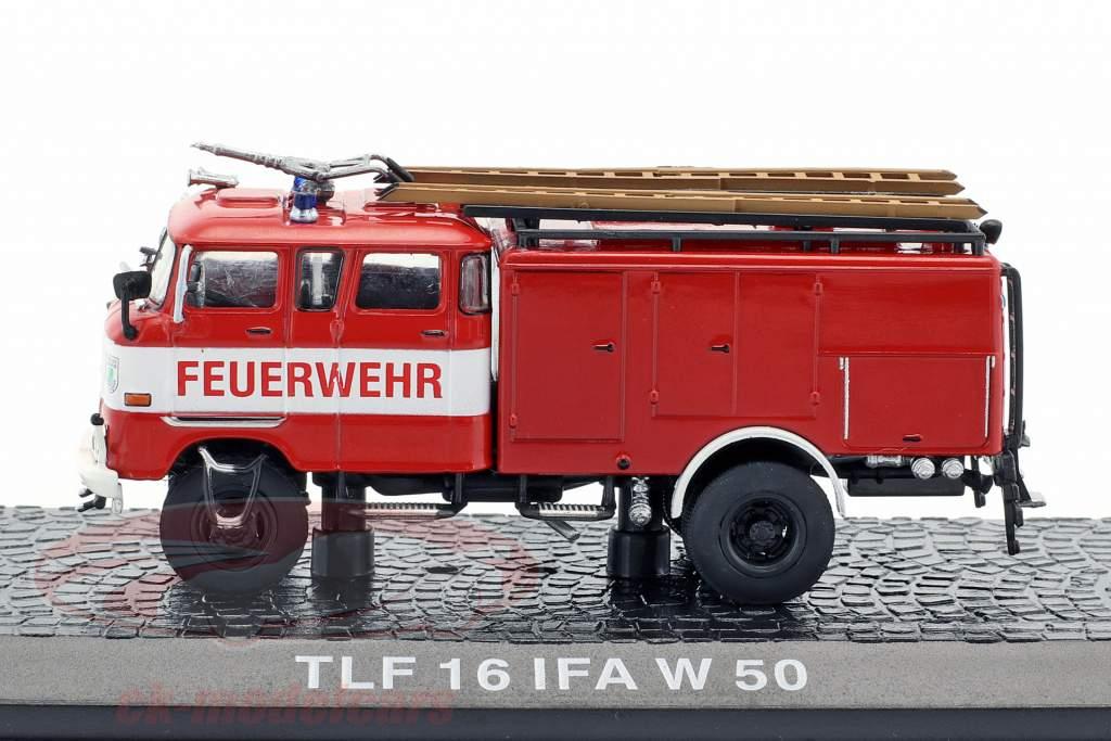 IFA W 50 TLF 16 vigili del fuoco rosso 1:72 Altaya