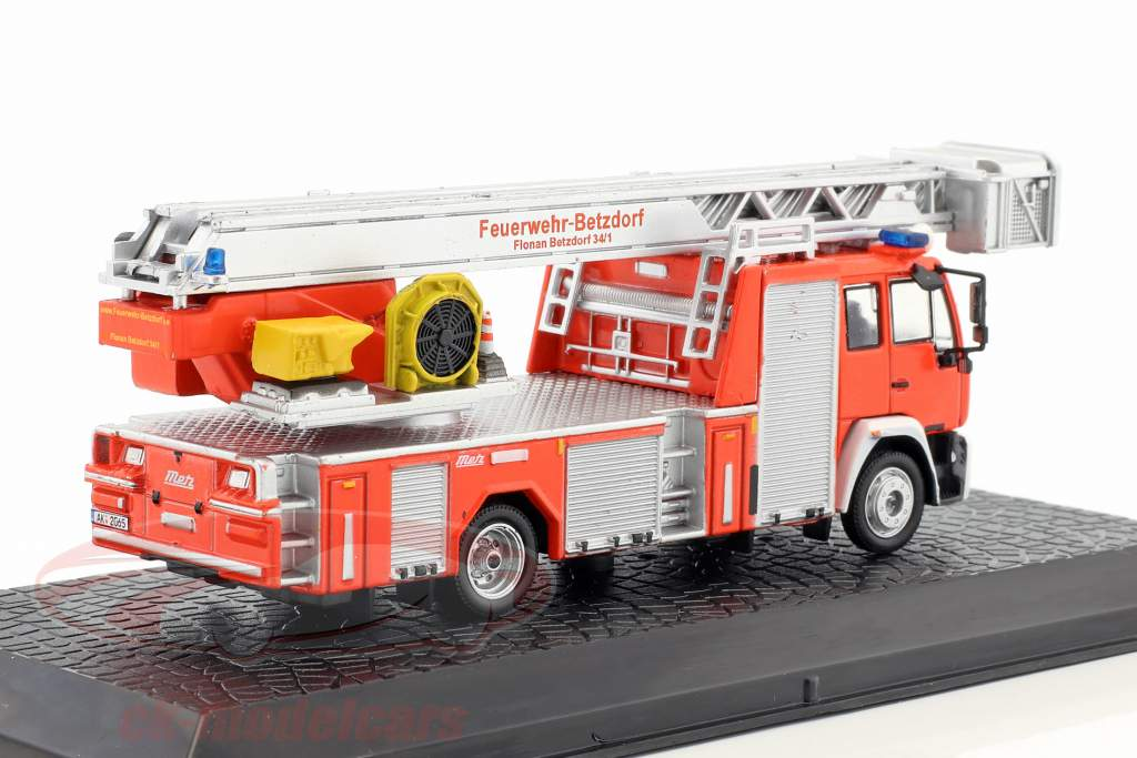 MAN LE 15.280 Metz DLK 23-12 fire Department Betzdorf red 1:72 Altaya
