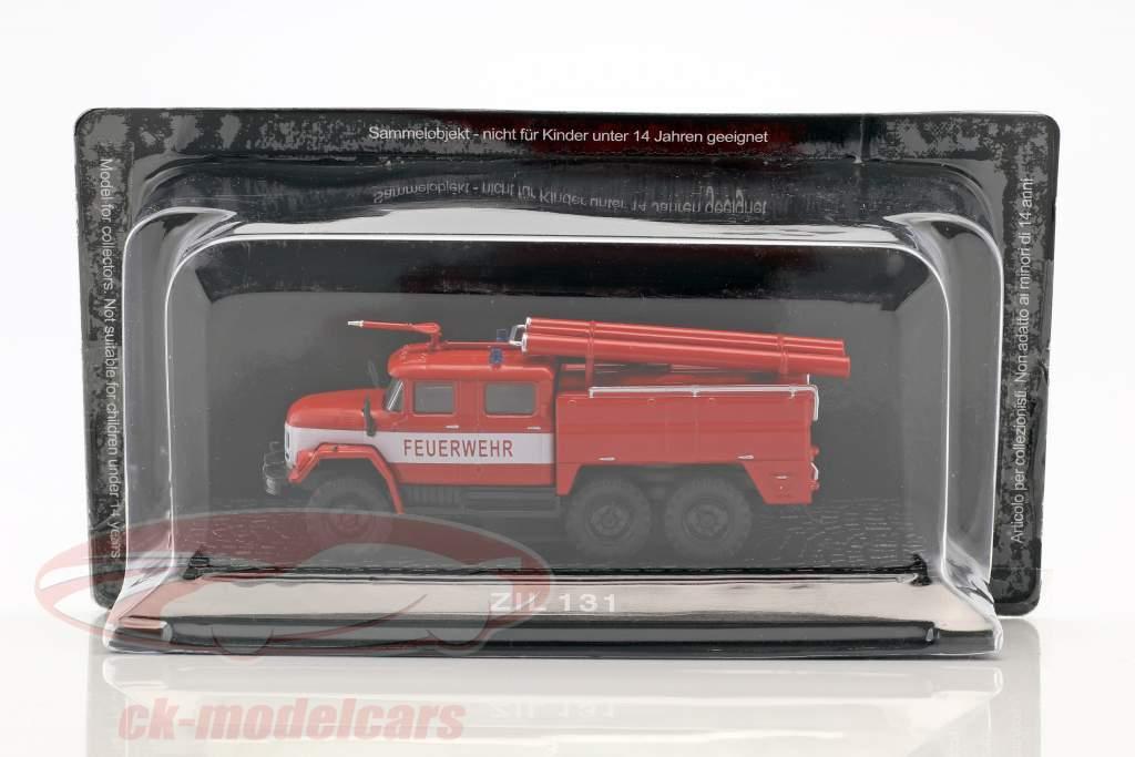 ZIL 131 fire Department red 1:72 Altaya