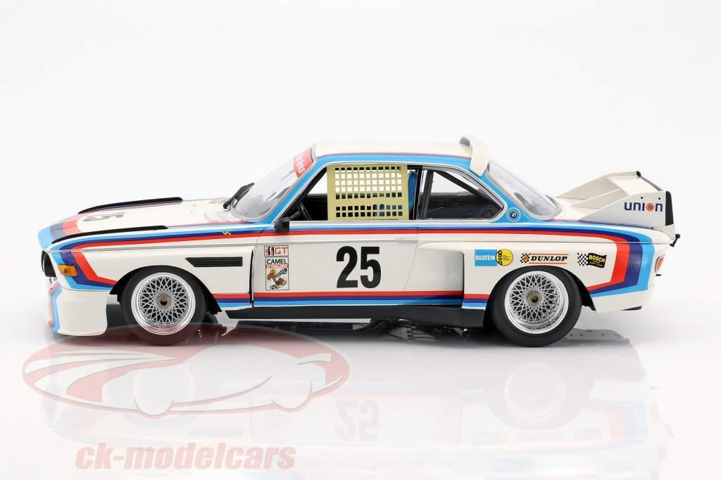 BMW 3.0 CSL #25 vencedor 12h Sebring IMSA 1975 Redman, Moffat, Posey, Stuck 1:18 Minichamps