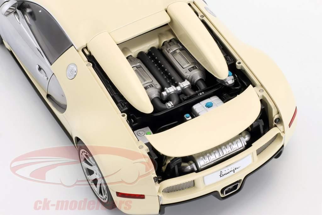 Bugatti Veyron EB 16.4 Año 2009 Blanco 1:18 AUTOart