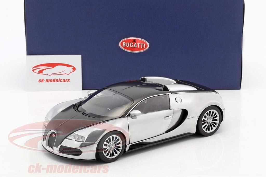 autoart 1:18 bugatti eb 16.4 veyron pur sang editon baujahr 2008