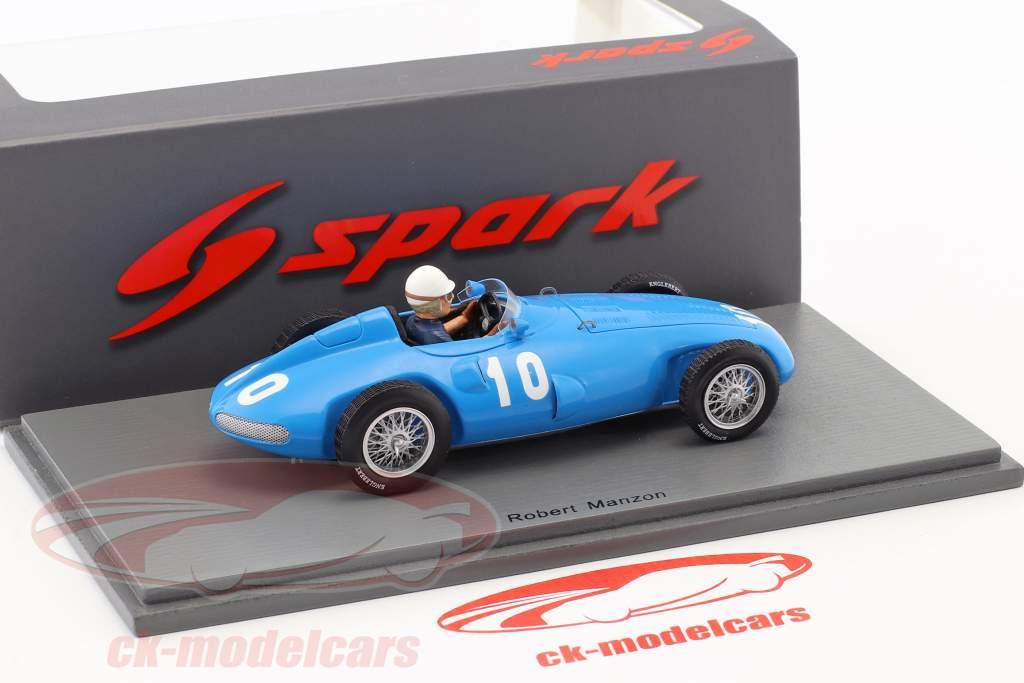 Robert Manzon Gordini T32 #10 italian GP formula 1 1956 1:43 Spark