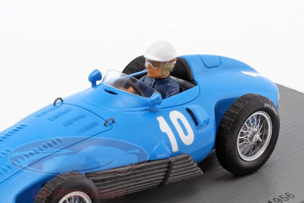 Robert Manzon Gordini T32 #10 italiano GP fórmula 1 1956 1:43 Spark
