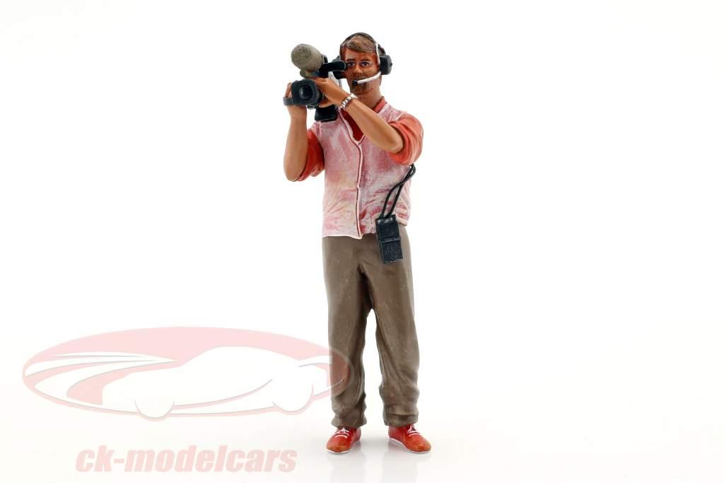 Thierry kameramand figur 1:18 LeMansMiniatures