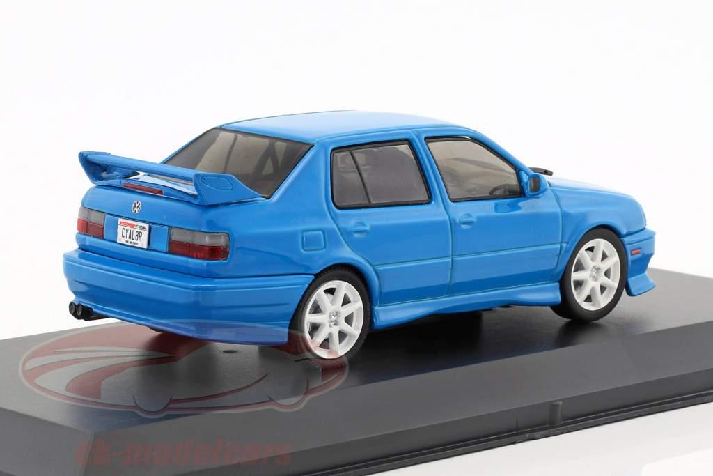 Volkswagen VW Jetta A3 anno di costruzione 1995 blu 1:43 Greenlight