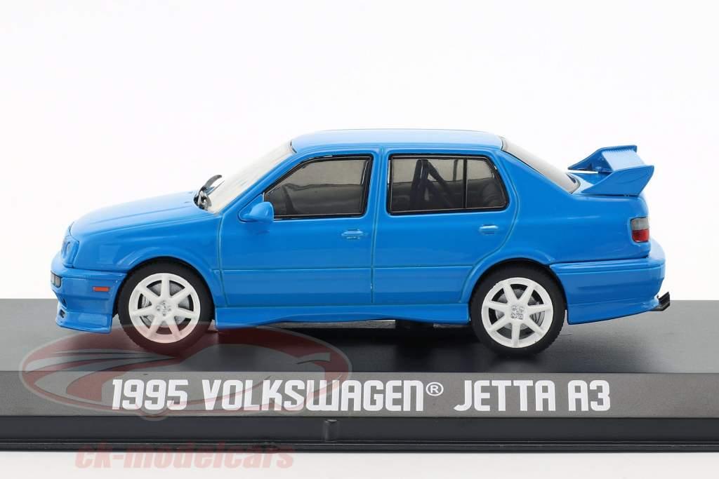 Volkswagen VW Jetta A3 Baujahr 1995 blau 1:43 Greenlight