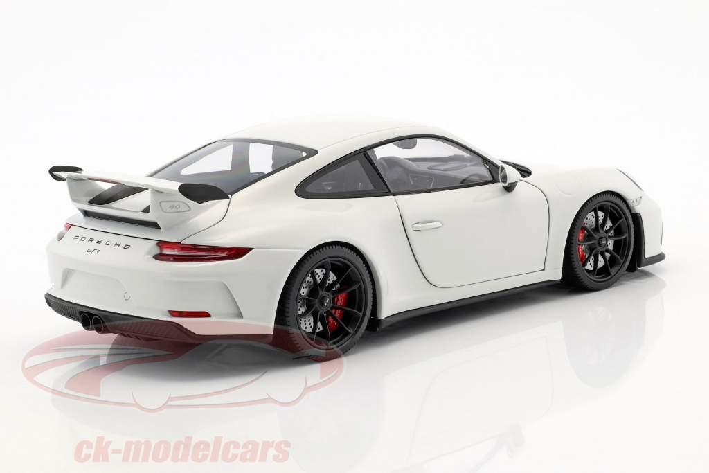 Porsche 911 (991 II) GT3 année de construction 2017 blanc 1:18 Minichamps