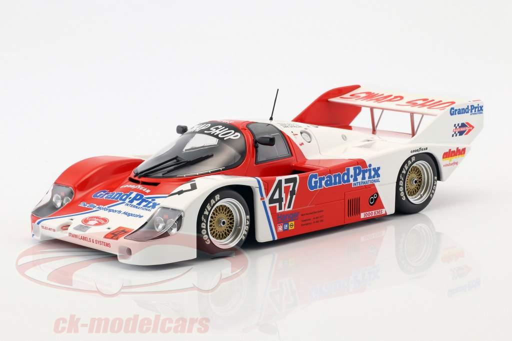 Porsche 956K #47 1000km Brands Hatch 1983 Galica, Sutherland, Henn 1:18 Minichamps