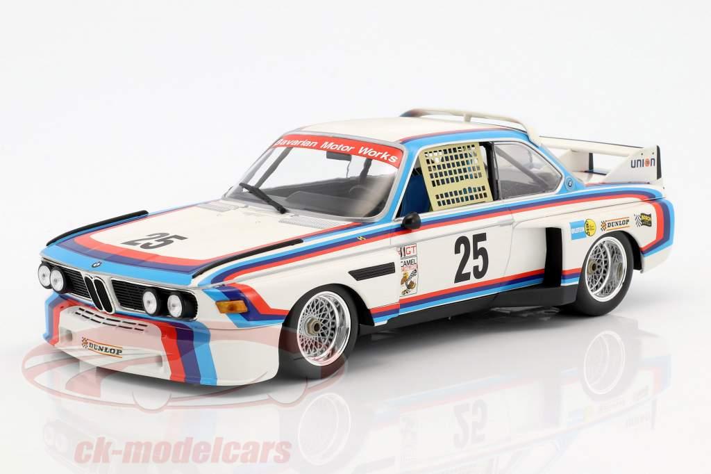 BMW 3.0 CSL #25 ganador 12h Sebring IMSA 1975 Redman, Moffat, Posey, Stuck 1:18 Minichamps