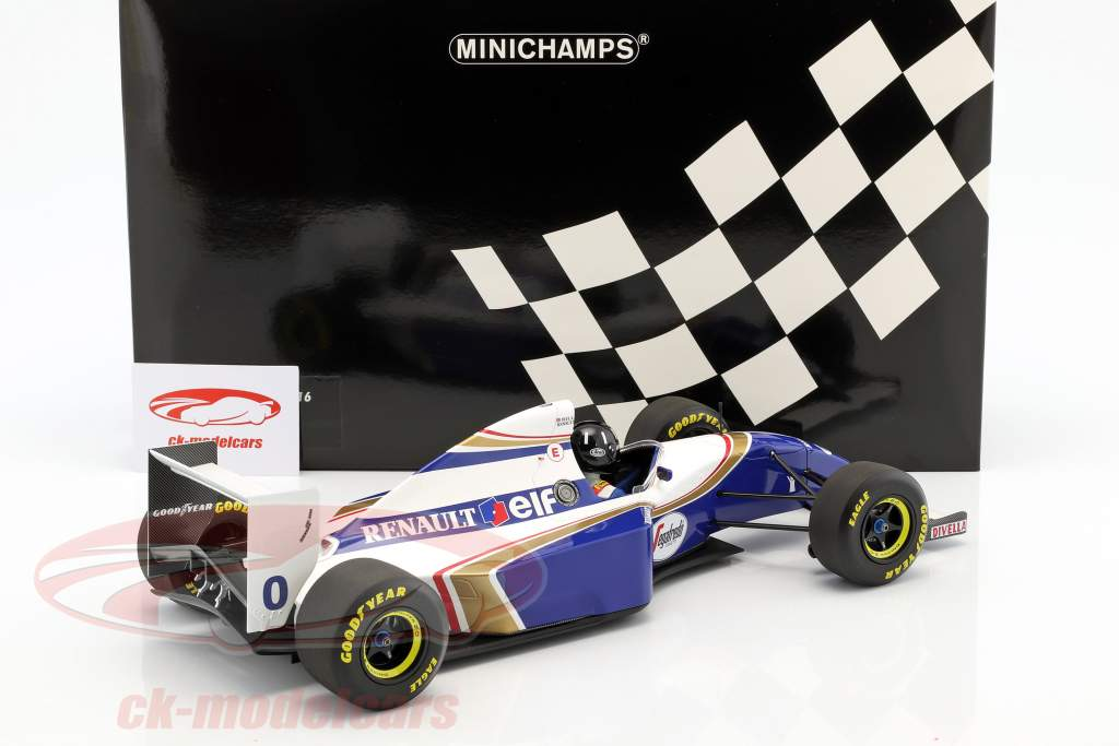 Damon Hill Williams FW16 #0 formula 1 1994 1:12 Minichamps