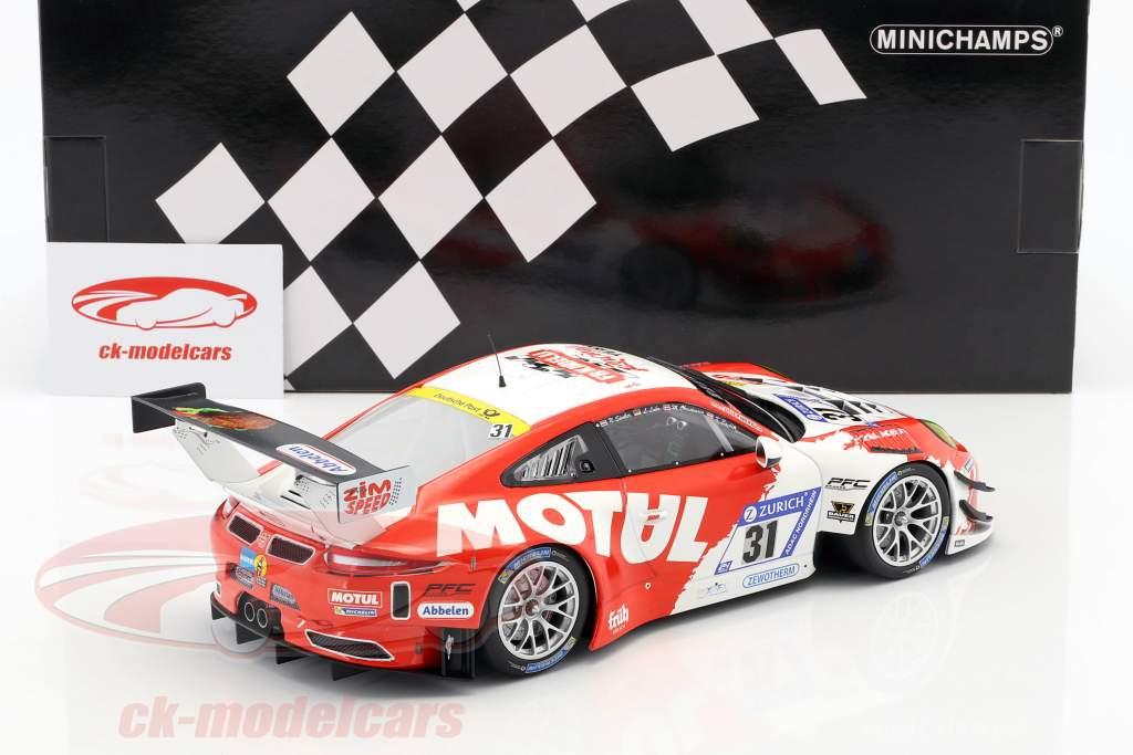 Porsche 911 GT3 R #31 6 ° 24h Nürburgring 2017 Frikadelli Racing Team 1:18 Minichamps