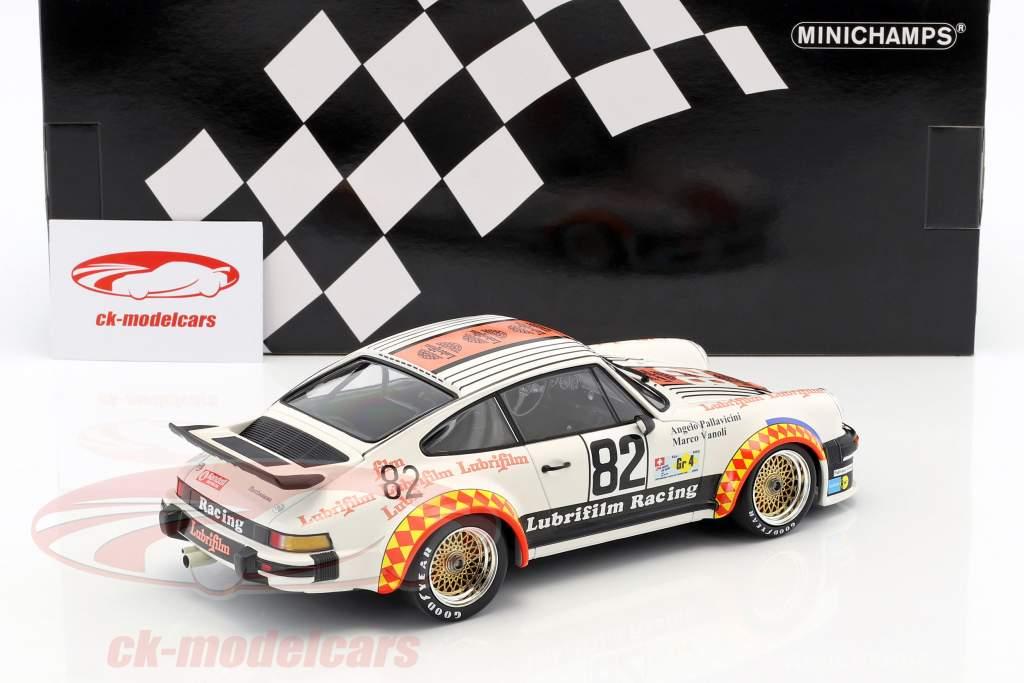 Porsche 934 #82 gagnant Gr.4 24h LeMans 1979 Müller, Pallavicini, Vanoli 1:18 Minichamps