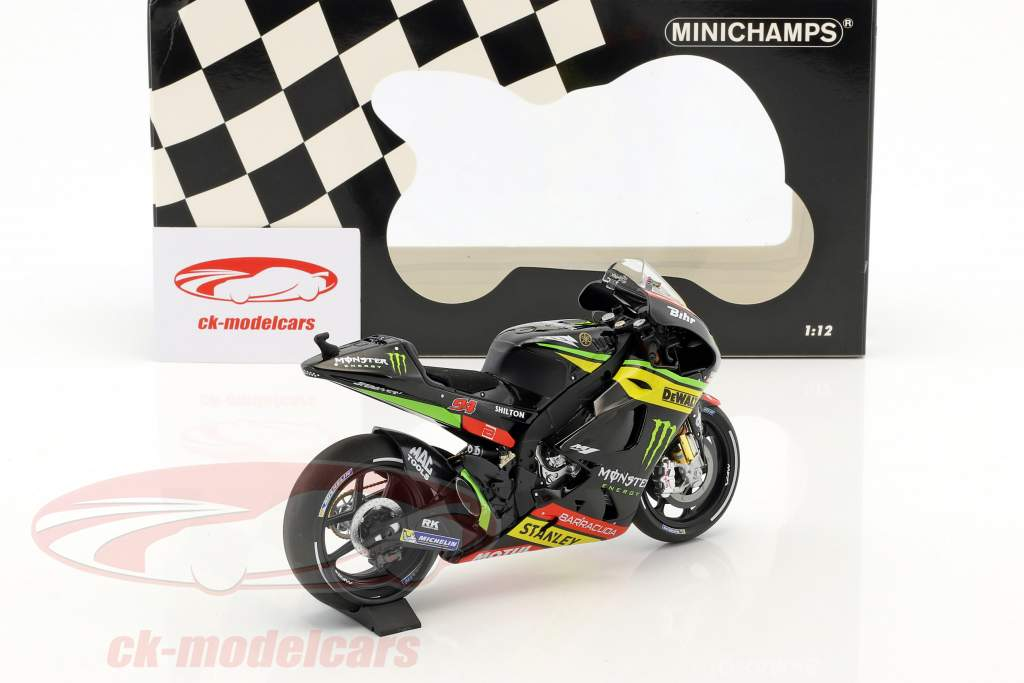 Jonas Folger Yamaha YZR-M1 #94 MotoGP 2017 1:12 Minichamps