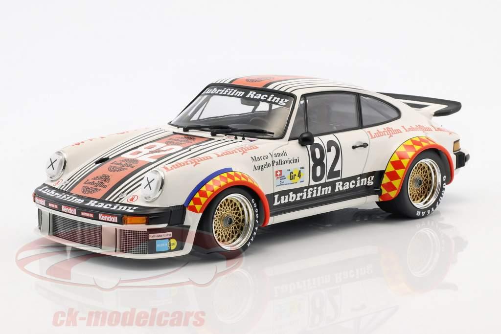 Porsche 934 #82 vincitore Gr.4 24h LeMans 1979 Müller, Pallavicini, Vanoli 1:18 Minichamps