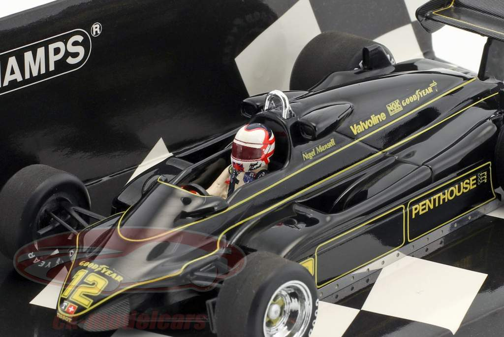 Nigel Mansell Lotus 91 #12 formule 1 1982 1:43 Minichamps