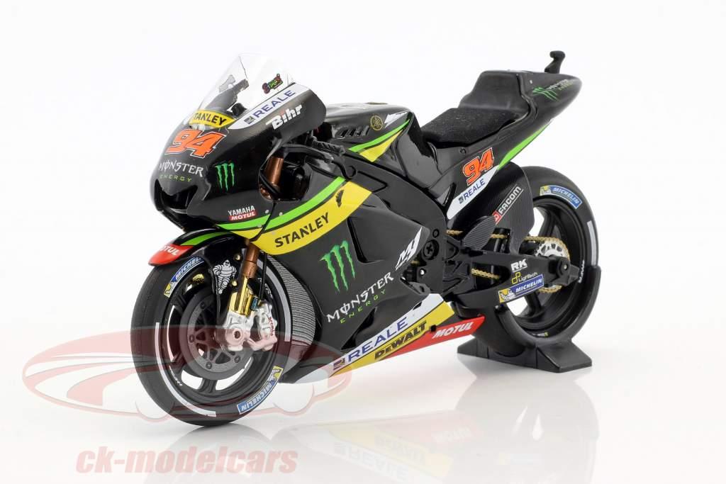 Jonas Folger Yamaha YZR-M1 #94 test MotoGP 2016 1:18 Minichamps