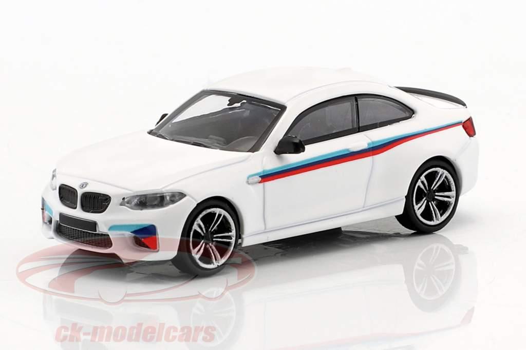 BMW M2 Presentation Car 2016 bianco 1:87 Minichamps
