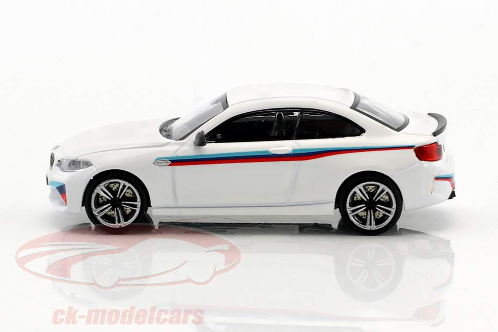 BMW M2 Presentation Car 2016 blanc 1:87 Minichamps
