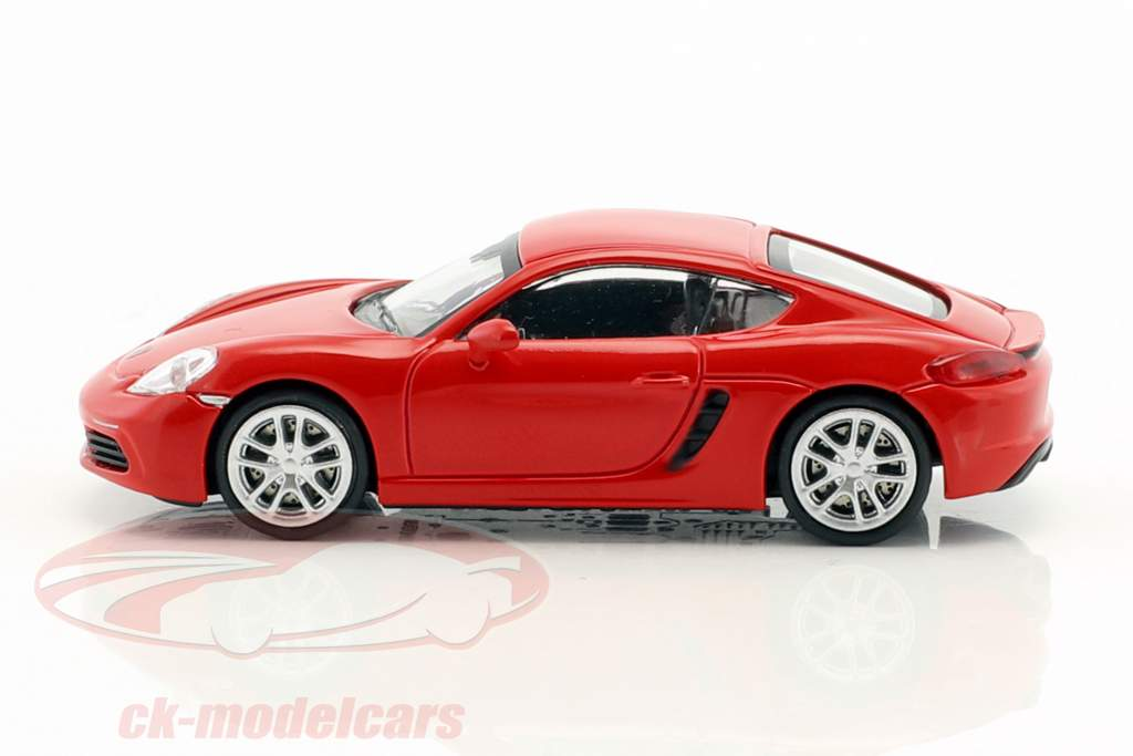 Porsche 718 Cayman année de construction 2016 rouge 1:87 Minichamps