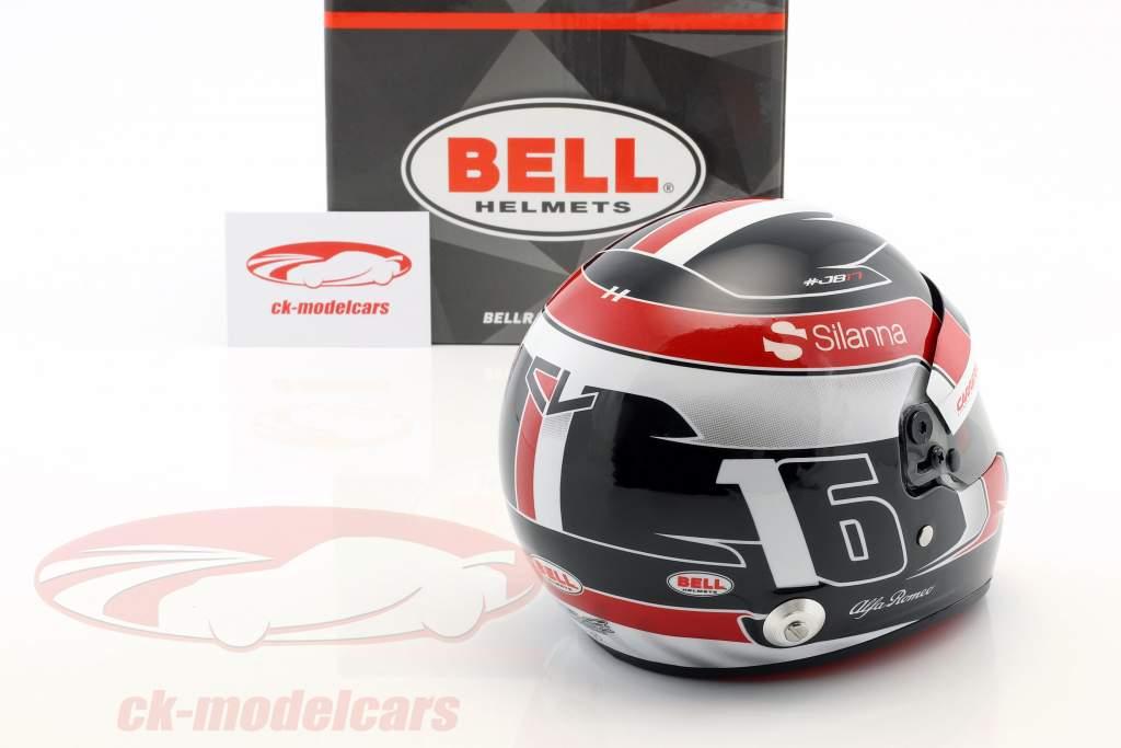 Charles Leclerc Sauber C37 #9 fórmula 1 2018 casco 1:2 Bell