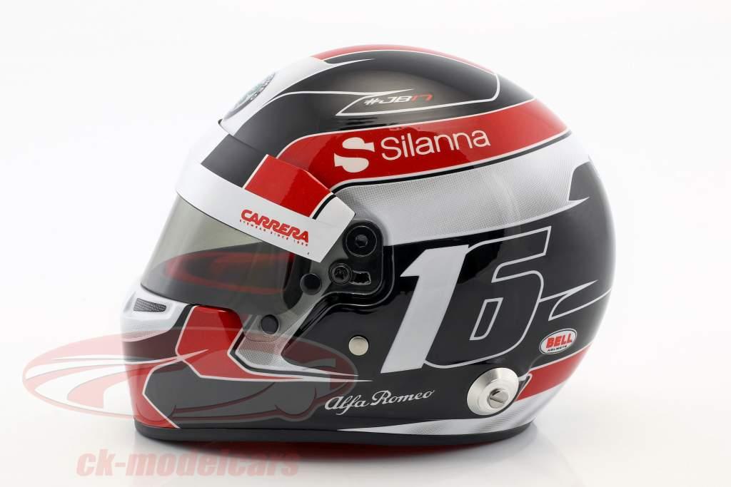 Charles Leclerc Sauber C37 #16 formula 1 2018 helmet 1:2 Bell