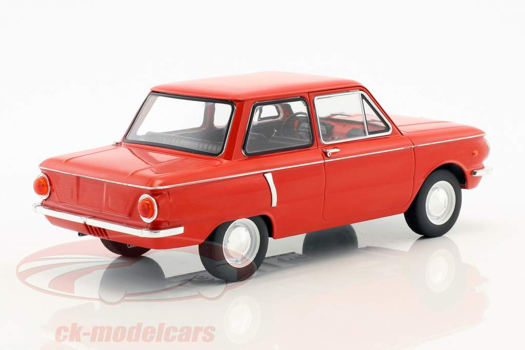 Saporoshez SAS 966 year 1966 red 1:18 Model Car Group