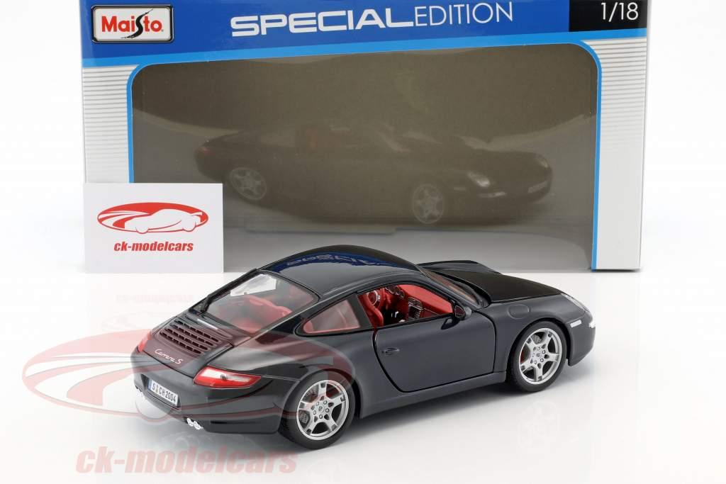 Porsche 911 (997) Carrera S dark blue 1:18 Maisto