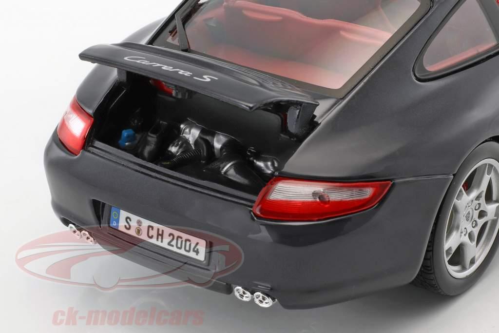 Porsche 911 (997) Carrera S dunkelblau 1:18 Maisto