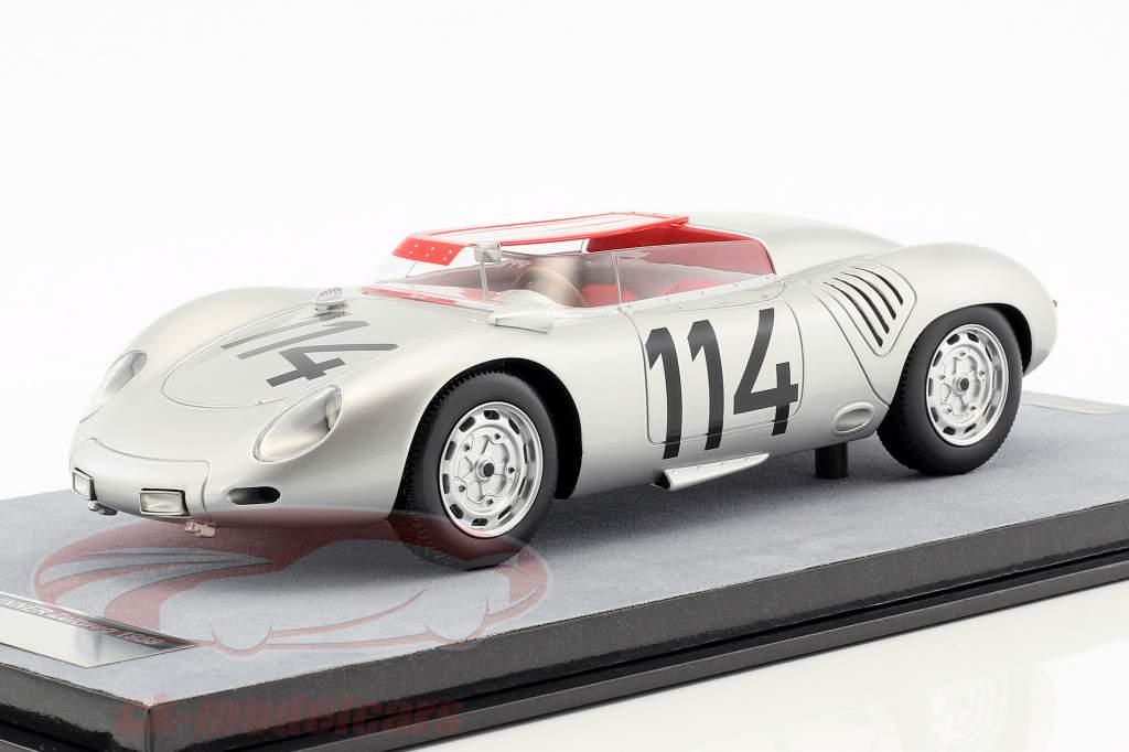 Porsche 718 RSK #114 gagnant Zeltweg 1958 Wolfgang G. Berghe von Trips 1:18 Tecnomodel