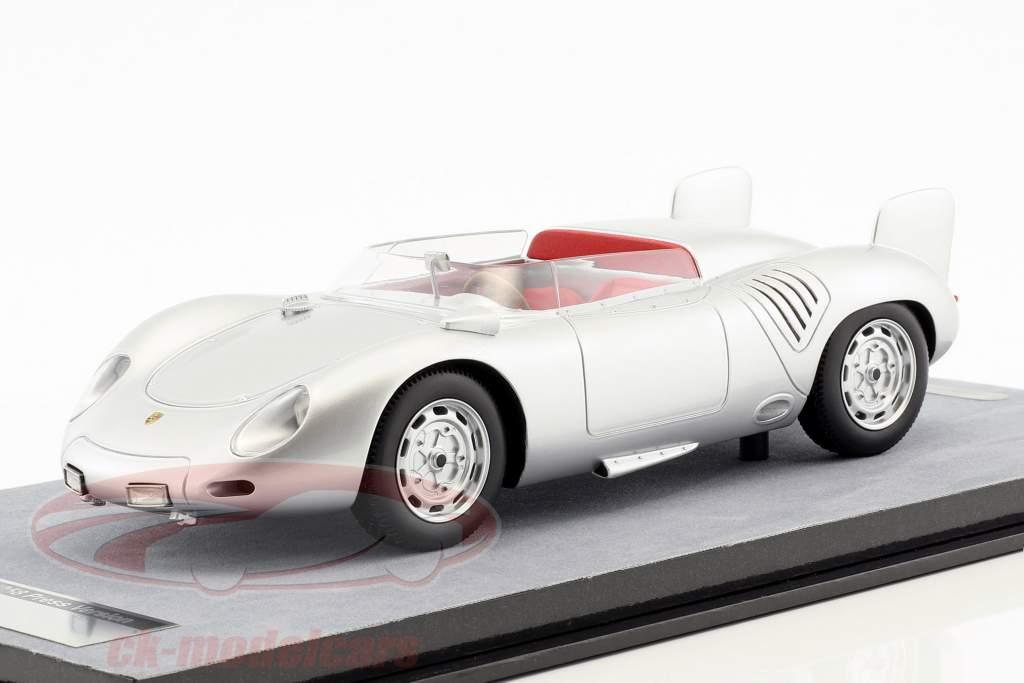 Porsche 718 RSK presse version 1958 argent 1:18 Tecnomodel