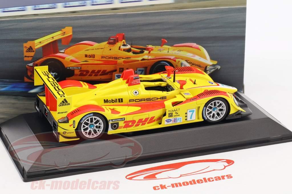 Porsche RS Spyder #7 ganador 12h Sebring 2008 Bernhard, Dumas, Collard 1:43 Spark