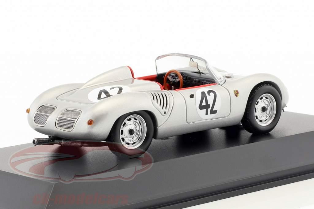 Porsche 718 RS60 #42 vincitore 12h Sebring 1960 Herrmann, Gendebien 1:43 Spark