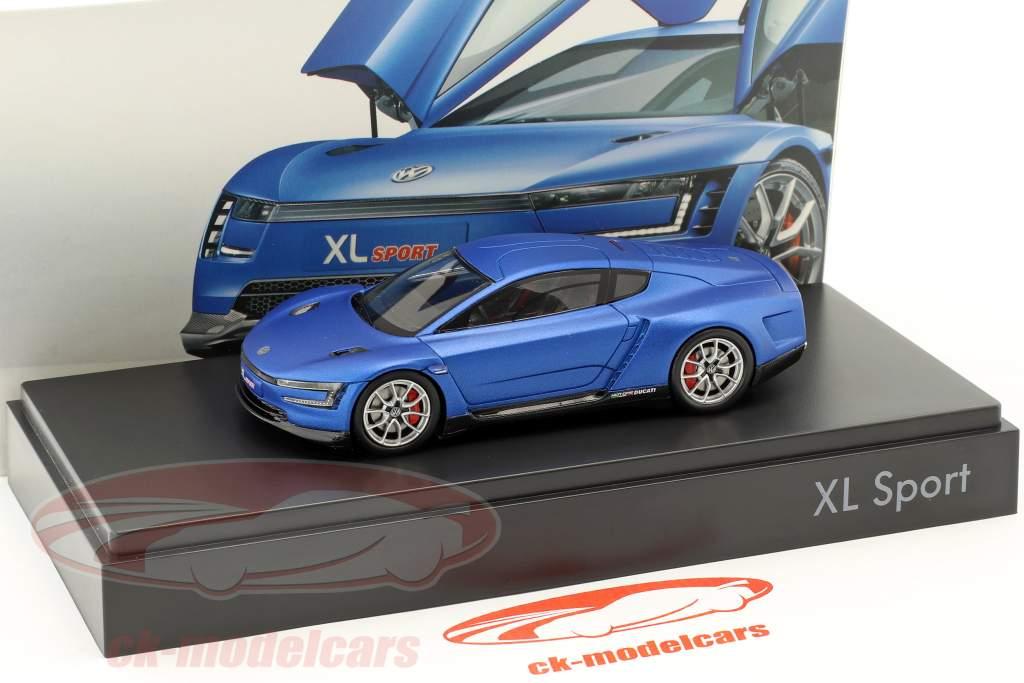 Volkswagen VW XL Sport year 2015 blue 1:43 Spark